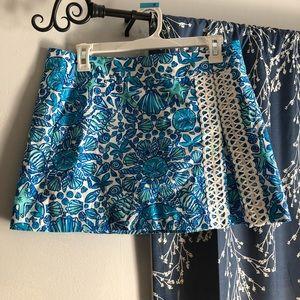 Short, Lilly Pulitzer skirt